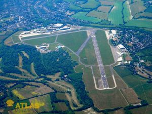 Aerial view of Biggin Hill Airport
